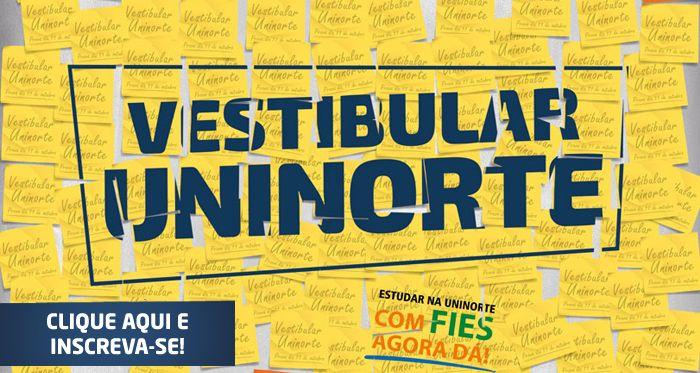 Vestibular UniNorte 2019