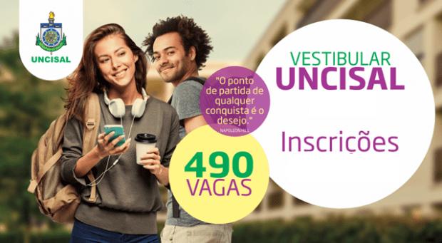 Vestibular UNCISAL 2019