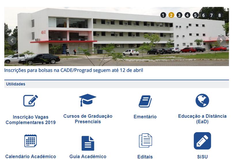 Inscrições vestibular UFSM 2020