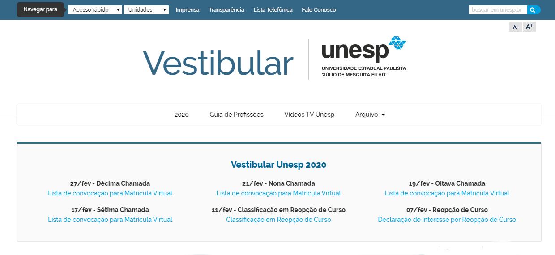 Portal Oficial UNESP