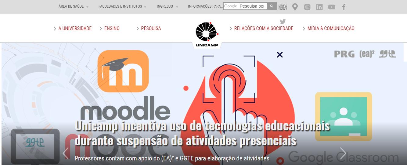 Portal Oficial da Unicamp