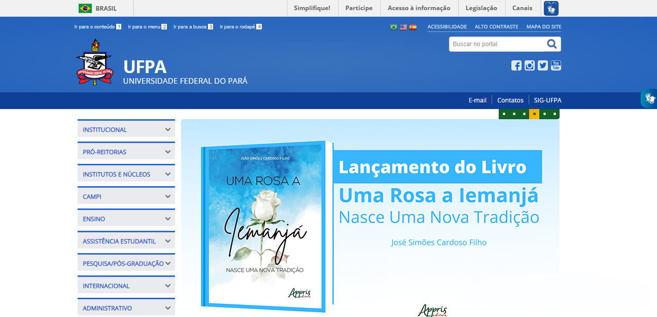 Portal da Universidade Federal do Pará